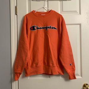 Champion women sweater orange